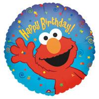 Elmo Loves You Foil Balloon