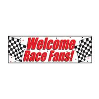 5' Race Fans Banner