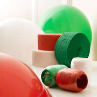 Red, Green and White Decorating Kit