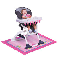 Fun at One - Girl High Chair Decorating Kit