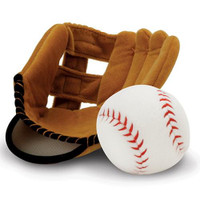 Plush Mitt & Ball Toy Set