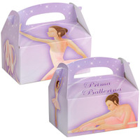 Prima Ballerina Empty Favor Boxes