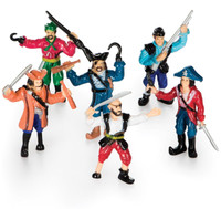 Pirate Figurine Set