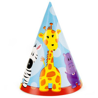Safari Friends 1st Cone Hats