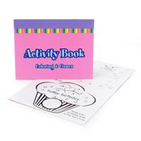 Activity Book Pastel