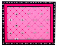 Pink Skull Activity Placemats