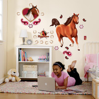 Horse Power Giant Wall Decals