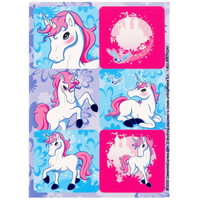 Enchanted Unicorn Sticker Sheets