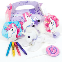 Enchanted Unicorn Party Favor Box