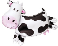 Cow Shaped Jumbo Foil Balloon