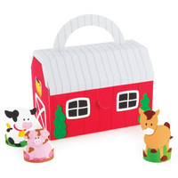 Barnyard Empty Favor Boxes