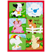Barnyard Sticker Sheet