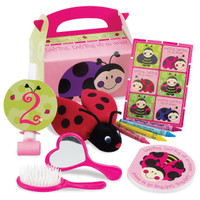 Ladybugs: Oh So Sweet 2nd Birthday Party Favor Box