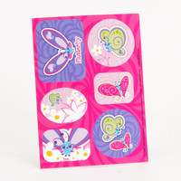 Flutterby Butterflies Sticker Sheets