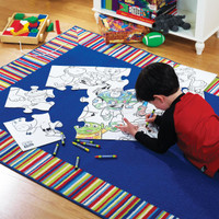 Disney Toy Story Giant Activity Puzzle with Jumbo Crayons