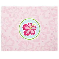 Hawaiian Girl Activity Placemats