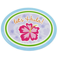 Hawaiian Girl Stickers