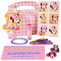 Disney Minnie's 1st Birthday Party Favor Box