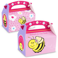 Sweet-As-Can-Bee Empty Favor Boxes