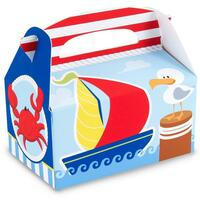 Anchors Aweigh Empty Favor Boxes
