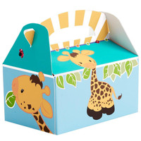 Giraffe Empty Favor Boxes
