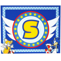 Sonic the Hedgehog Activity Placemats