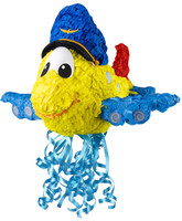 "Airplane Adventure 3D 18"" Pull-String Pinata"