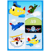 Airplane Adventure Sticker Sheets