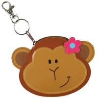 Girl Monkey Coin Purse