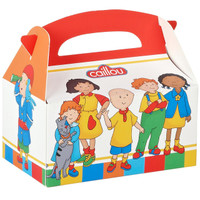 Caillou Empty Favor Boxes