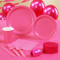 Candy Pink (Hot Pink) Standard Party Pack