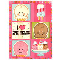 Ice Cream Sprinkles Sticker Sheets