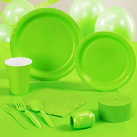 Fresh Lime (Lime Green) Standard Party Pack