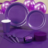Perfect Purple (Purple) Standard Party Pack
