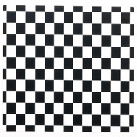 Black and White Check Activity Placemats