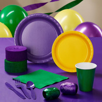 Purple, Yellow & Green Standard Pack
