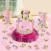 Minnie's 1st Birthday Centerpiece