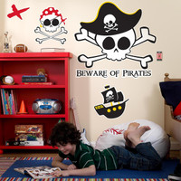 Little Buccaneer Giant Wall Decals