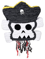 Little Buccaneer Pull-String Pinata