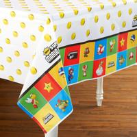 Super Mario Bros. Plastic Tablecover