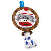 Sock Monkey Red Blowouts