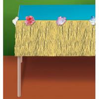 Natural Grass Mini Table Skirt
