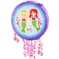 Mermaids Pull-String Pinata