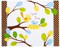 Sweet Tweet Bird Blue Activity Placemats