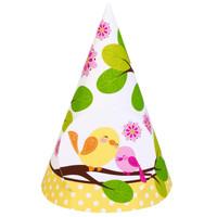 Sweet Tweet Bird Pink - Cone Hats