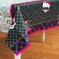 Monster High Paper Tablecover