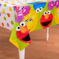 Sesame Street 1st Plastic Tablecover