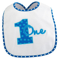Everything One Boy Bib
