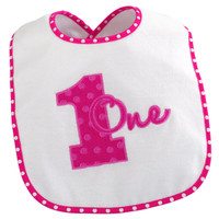 Everything One Girl Bib