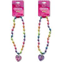 Disney Mickey and Minnie Pearl Necklace